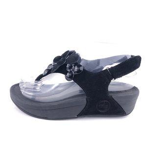 FitFlop Fleur Slingback Sandals 6